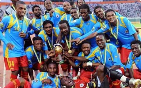 Les Léopards, champions d'Afrique